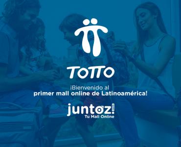 Totto en Juntoz, tu mall online