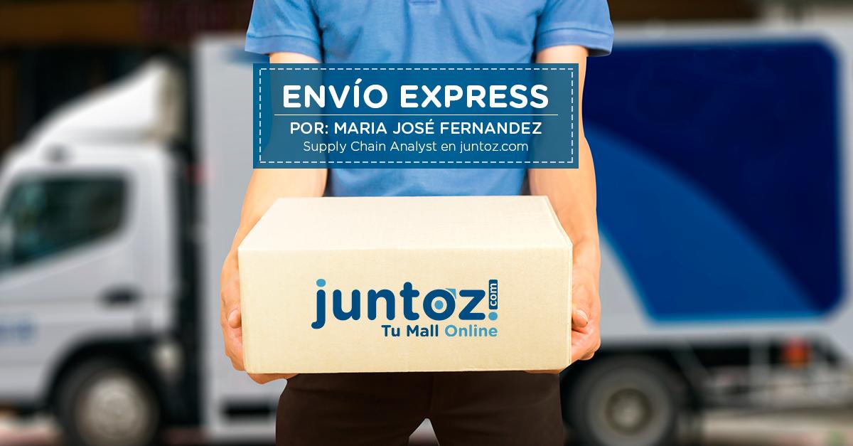 Envío Express / Same Day Delivery en juntoz.com