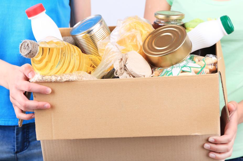 Alimentos no perecibles para donar