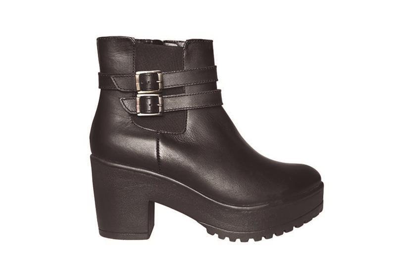 Ankle boots cómodos color negro