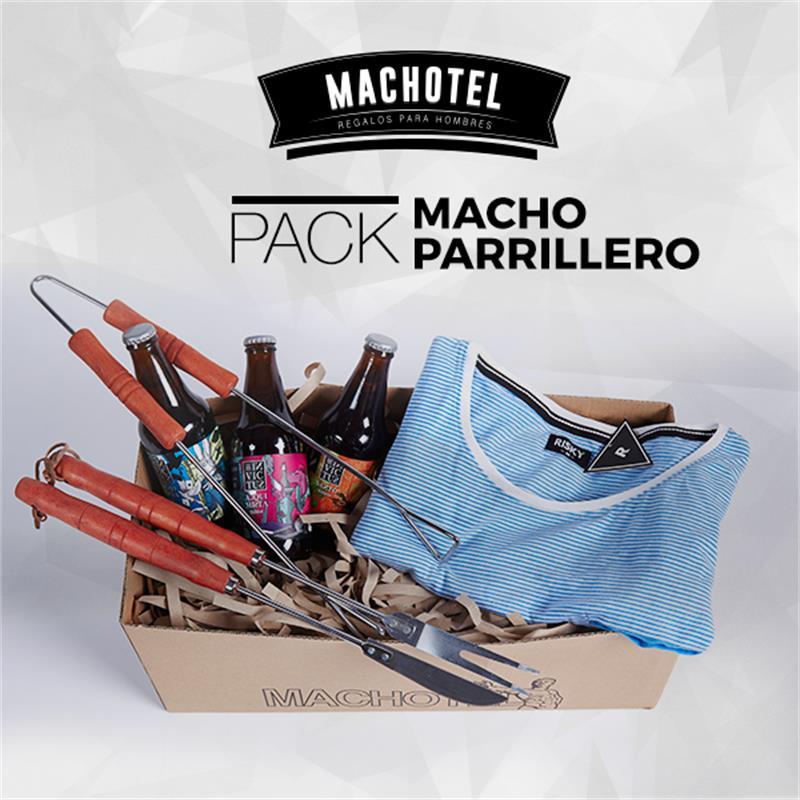 Machotel Macho Parrillero - Regalos para el Día del Padre