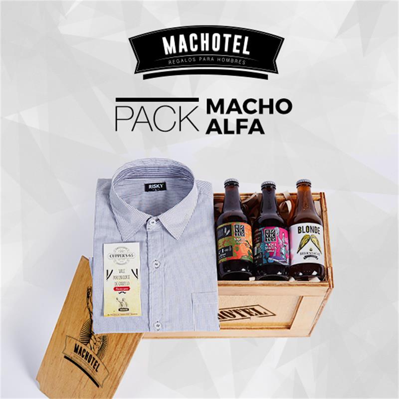 Machotel Macho Alfa - Regalos para el Día del Padre