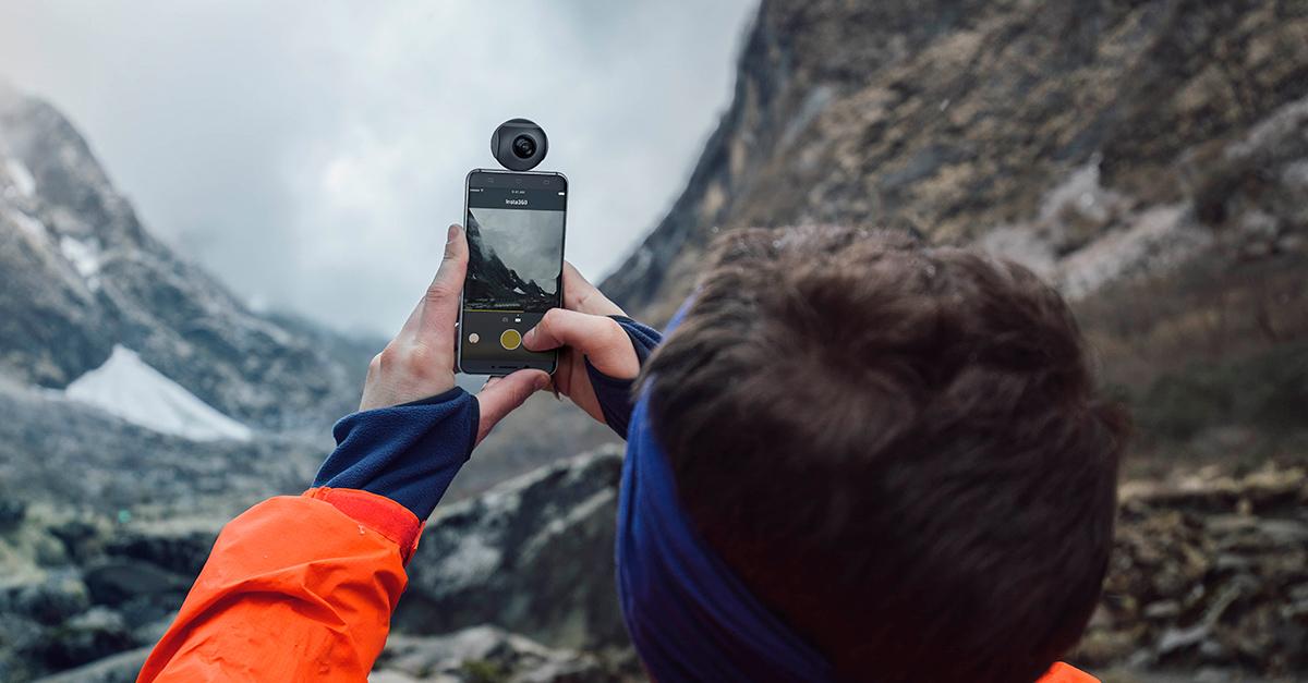 Insta 360 Air: La cámara para tu smartphone que graba a 360°